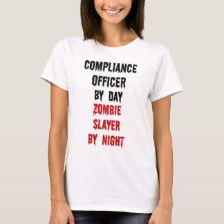 承諾の役人のゾンビの殺害者 Tシャツ