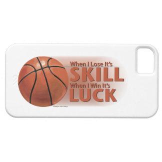 技術の勝利運のバスケットボールを失って下さい iPhone SE/5/5s ケース