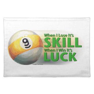技術の勝利運9の球を失って下さい ランチョンマット