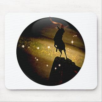 技術の地下牢の(占星術の)十二宮図-山羊座 マウスパッド