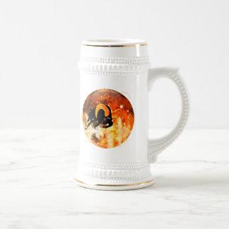 技術の地下牢の(占星術の)十二宮図-牡羊座 ビールジョッキ