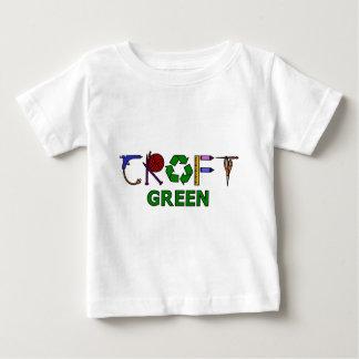 技術の緑 ベビーTシャツ