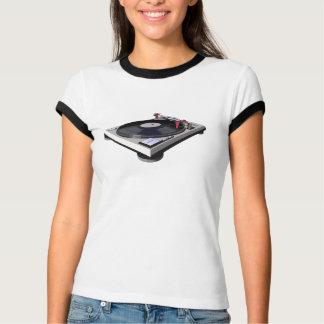 技術の1200年のターンテーブル記録的なDJ 3D Tシャツ