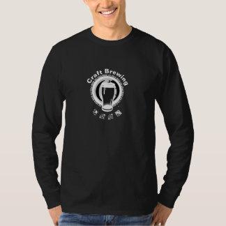 技術の、黒い醸造及び2白 Tシャツ