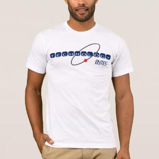 技術バイトの淡色のワイシャツ Tシャツ