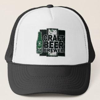 技術ビール醸造業者の-緑及び黒く擦り切れたなロゴ キャップ