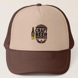 技術ビール醸造業者-バーガンディのロゴ キャップ