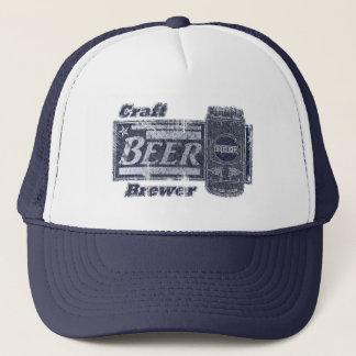 技術ビール醸造業者-青及び白は擦り切れたな一見できます キャップ
