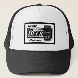 技術ビール醸造業者-黒及び白は星とできます キャップ