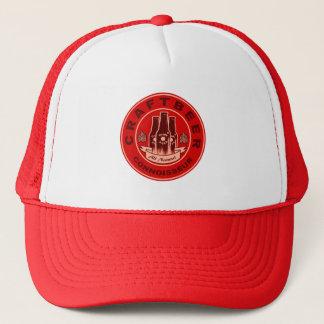 技術ビール鑑識家の赤 キャップ