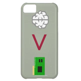 技術上の心 iPhone 5C ケース