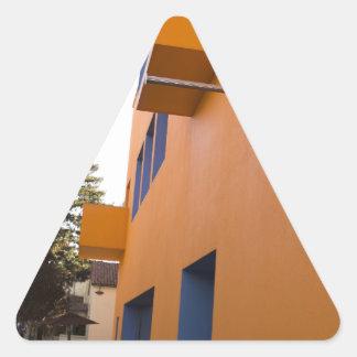 技術博物館の側面図、サンノゼ、カリフォルニア 三角形シール