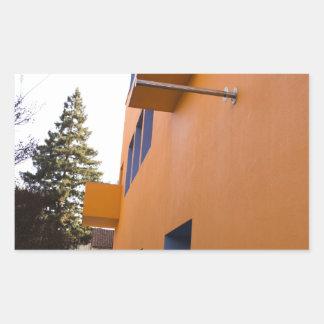 技術博物館の側面図、サンノゼ、カリフォルニア 長方形シール
