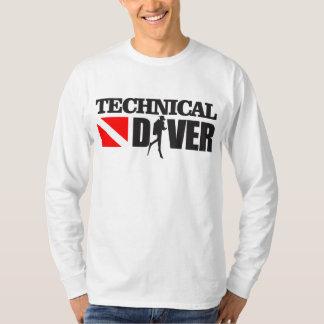 技術的なダイバー2の服装 Tシャツ