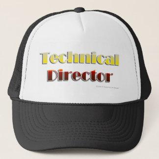 技術的なディレクター(文字だけ) キャップ