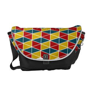 技術Colorey/中型のメッセンジャーバッグの外プリント メッセンジャーバッグ