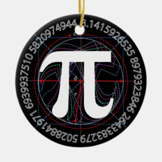 技術Piの記号 セラミックオーナメント