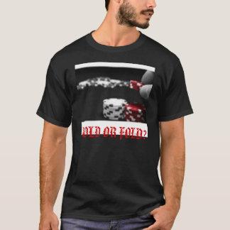 把握か折目か。 Tシャツ