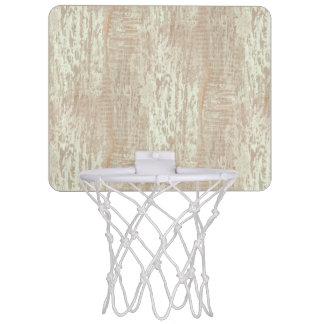 抑制された沿岸マツ木穀物の一見 ミニバスケットボールゴール