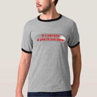 投げること Tシャツ