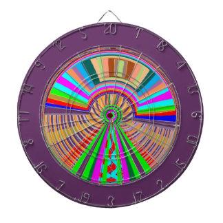 投げ矢のチャクラ124の倍数-車輪の幸運の波 ダーツボード