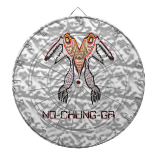 投げ矢のチャクラ- Navin著NO-CHUNG-GA UFOの創造物 ダーツボード