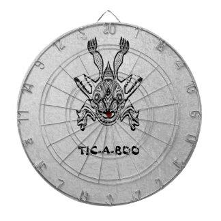投げ矢のチャクラ- Navin著TIC-A-BOO TICABOOの創造物 ダーツボード