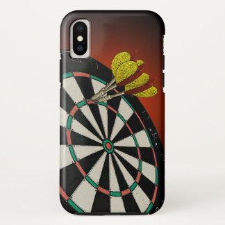 投げ矢のデザイン iPhone X ケース