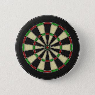 投げ矢板パターン。 スタイリッシュで、完全な趣味のギフト 5.7CM 丸型バッジ