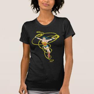 投げ縄のワンダーウーマン Tシャツ