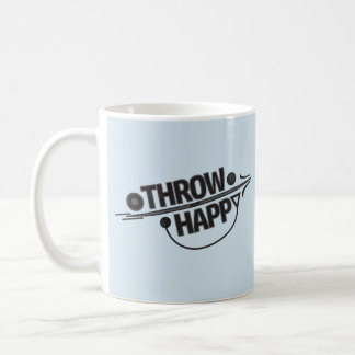 投球の幸せ砲丸投げ、円盤投げ選手のギフト コーヒーマグカップ