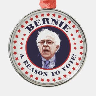 投票するベルニーの理由 メタルオーナメント