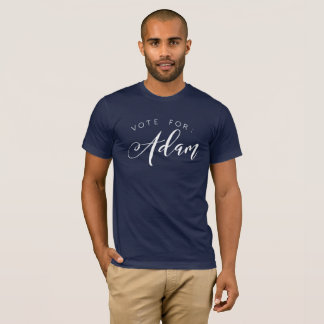 投票のための: アダム Tシャツ
