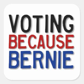 投票のでベルニー スクエアシール