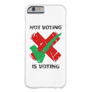 投票は投票です BARELY THERE iPhone 6 ケース
