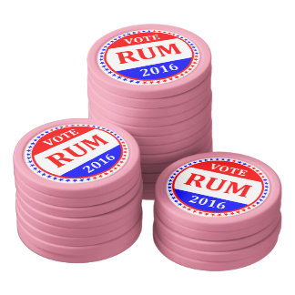 投票エールか。 投票ラム酒か。 硬貨を弾いて下さい! (かちりと言う音のイメージ) ポーカーチップセット