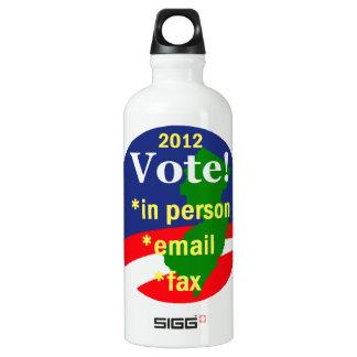 投票ニュージャージー ウォーターボトル