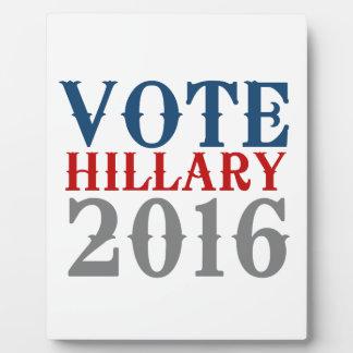 投票ヒラリー・クリントン2016 VINTAGE.png フォトプラーク