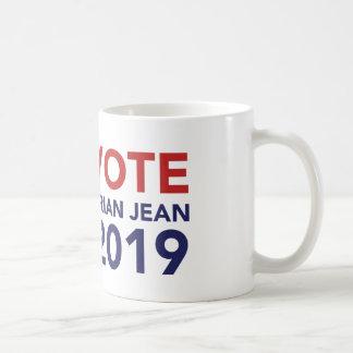 投票ブライアンジーンのコーヒー・マグ コーヒーマグカップ