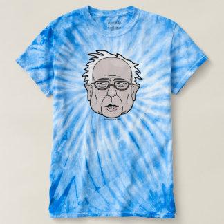 投票ベルニーの研摩機の2016年のTシャツ。 絞り染めのティー Tシャツ