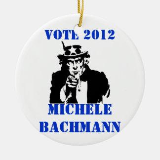 投票ミケーレBACHMANN 2012年 セラミックオーナメント
