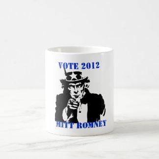 投票ミット・ロムニー2012年 コーヒーマグカップ