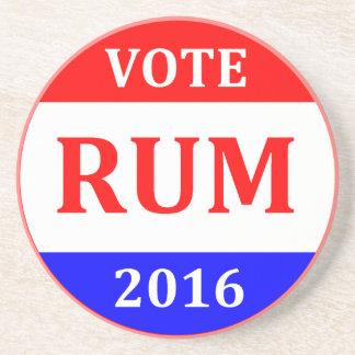 投票ラム酒2016年のドナルド・トランプのコースター コースター