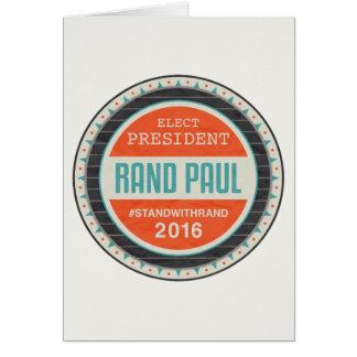 投票ランドポール2016年 カード