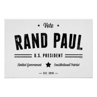 投票ランドポール2016年 ポスター