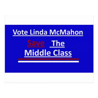 投票リンダMcMahonの2012年の上院における選挙戦 ポストカード