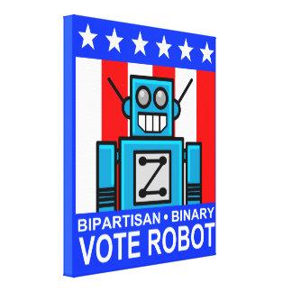 投票ロボットZ キャンバスプリント