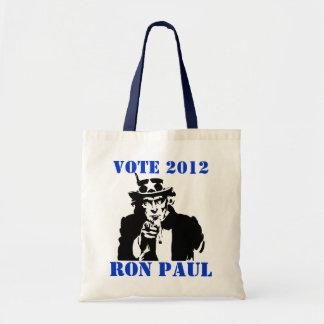 投票ロン・ポール2012年 トートバッグ