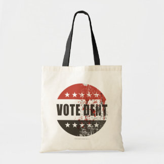 投票凹みのステッカー トートバッグ