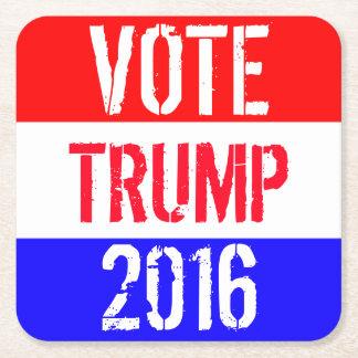 投票切札2016年 スクエアペーパーコースター
